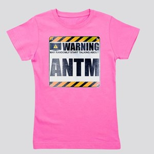Warning: ANTM Girl's Dark Tee