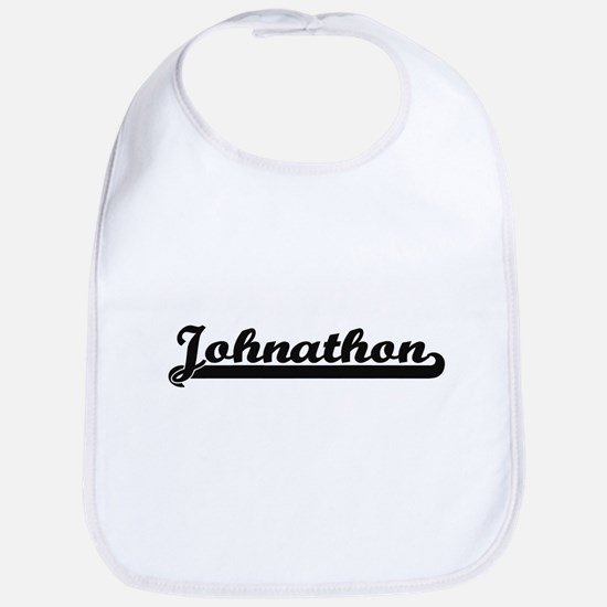 Johnathon Classic Retro Name Design Bib