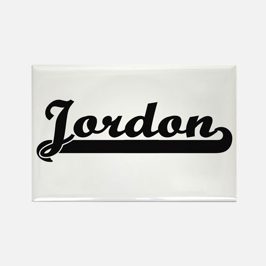 Jordon Classic Retro Name Design Magnets