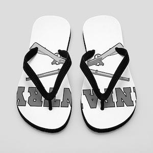 88481925671c INFANTRY CROSSED RIFLES Flip Flops