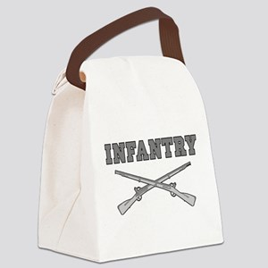 INFANTRY CROSSED RIFLES Canvas Lunch Bag