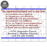 Unconstitutional Laws Puzzle