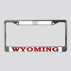 Unconstitutional Laws License Plate Frame
