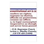 Unconstitutional Laws Postcards (Package of 8)