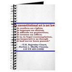 Unconstitutional Laws Journal