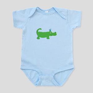 Preppy Green Alligator Body Suit