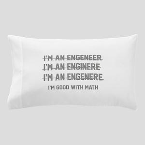 I'm Good With Math Pillow Case