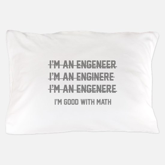 I'm Good With Math Pillow Case