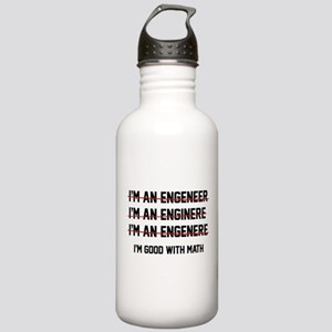 I'm Good With Math Stainless Water Bottle 1.0L