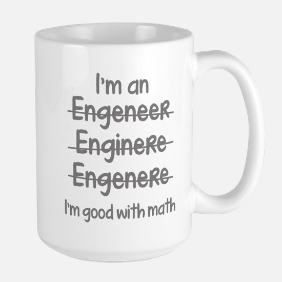 I'm Good With Math Large Mug