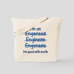I'm Good With Math Tote Bag