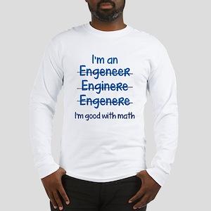 I'm Good With Math Long Sleeve T-Shirt