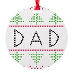 dad holiday Ornament