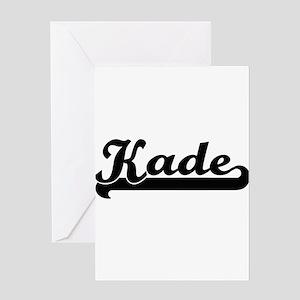 Kade Classic Retro Name Design Greeting Cards