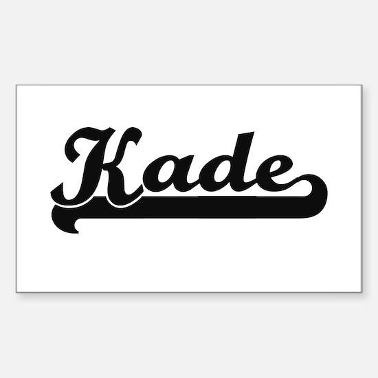 Kade Classic Retro Name Design Decal