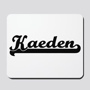 Kaeden Classic Retro Name Design Mousepad