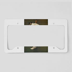 cricket art License Plate Holder