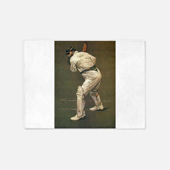 cricket art 5'x7'Area Rug