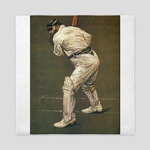 cricket art Queen Duvet