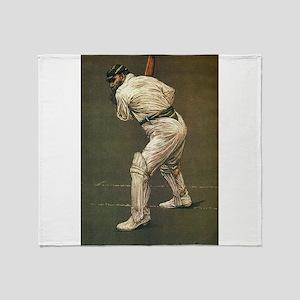 cricket art Throw Blanket
