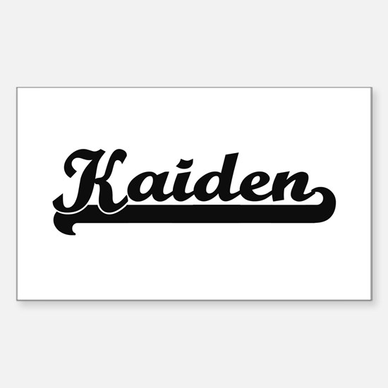 Kaiden Classic Retro Name Design Decal