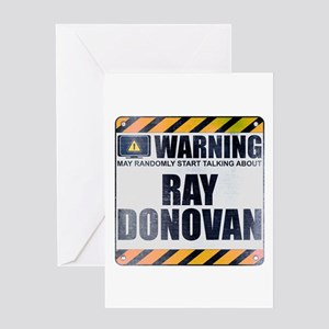 Warning: Ray Donovan Greeting Card