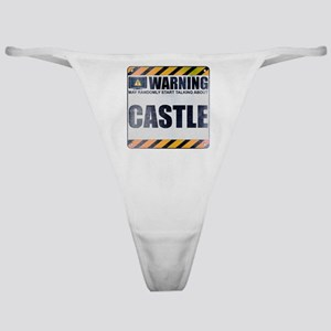 Warning: Castle Classic Thong