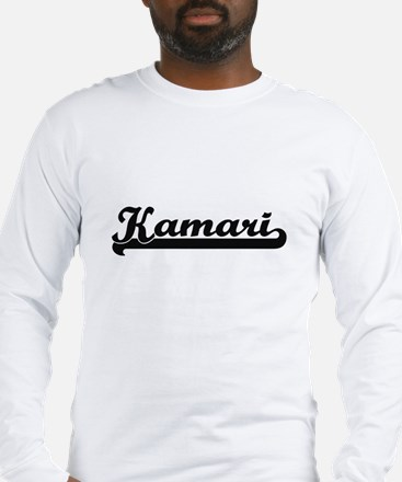Kamari Classic Retro Name Desi Long Sleeve T-Shirt