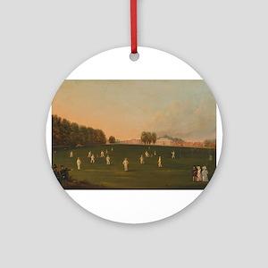 cricket art Ornament (Round)