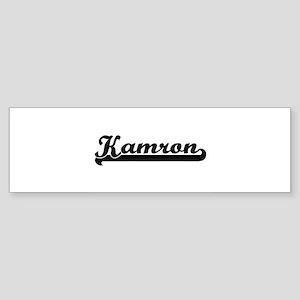 Kamron Classic Retro Name Design Bumper Sticker