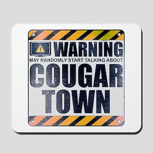 Warning: Cougar Town Mousepad
