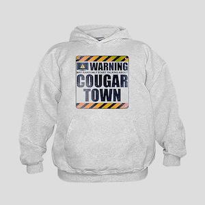 Warning: Cougar Town Kid's Hoodie