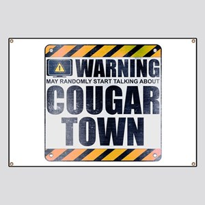 Warning: Cougar Town Banner