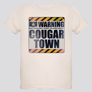 Warning: Cougar Town Organic Kid's T-Shirt
