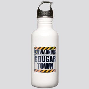 Warning: Cougar Town Stainless Water Bottle 1.0L