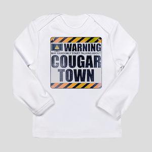 Warning: Cougar Town Long Sleeve Infant T-Shirt