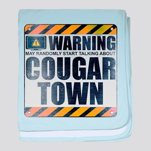 Warning: Cougar Town Infant Blanket