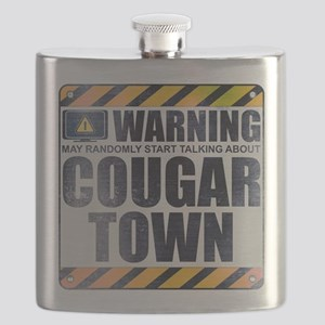 Warning: Cougar Town Flask