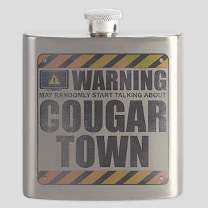 Warning: Cougar Town Flask