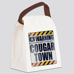 Warning: Cougar Town Canvas Lunch Bag