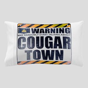 Warning: Cougar Town Pillow Case