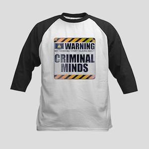 Warning: Criminal Minds Kids Baseball Jersey
