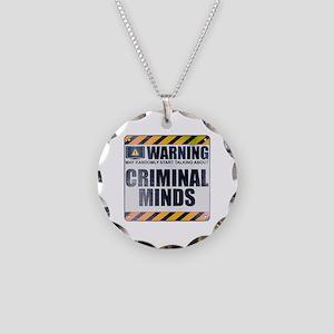 Warning: Criminal Minds Necklace Circle Charm