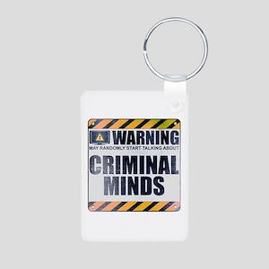 Warning: Criminal Minds Aluminum Photo Keychain