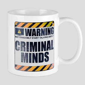 Warning: Criminal Minds Mug