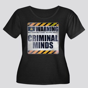 Warning: Criminal Minds Women's Dark Plus Size Sco