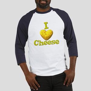 funny cute i heart love cheese cheesey heart Baseb