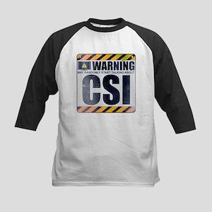 Warning: CSI Kids Baseball Jersey
