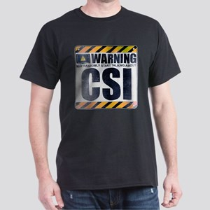 Warning: CSI Dark T-Shirt