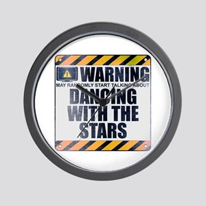 Warning: Dancing With the Stars Wall Clock